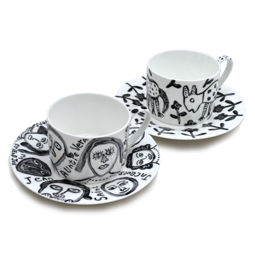 Cups & Saucers: click to enlarge